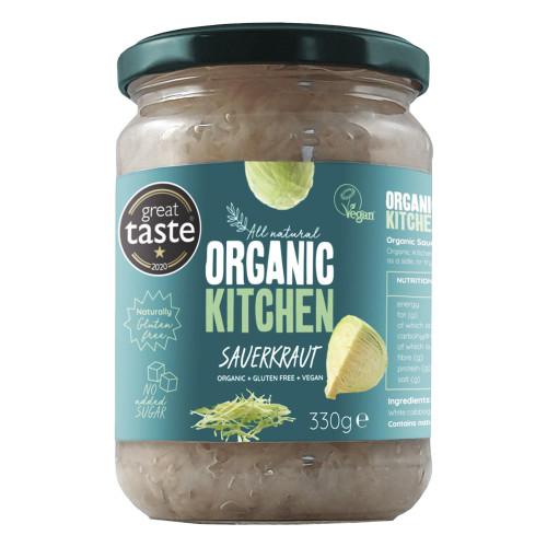 Organic Kitchen Sauerkraut