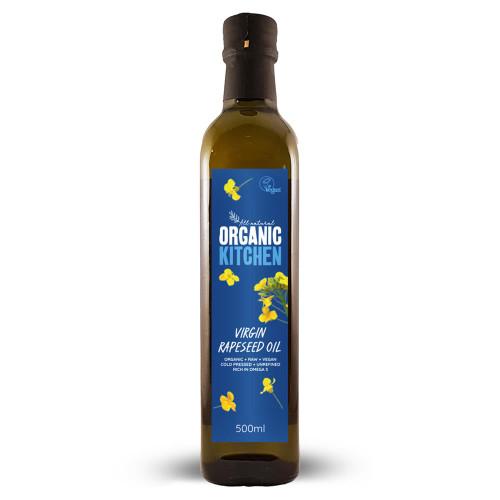 Organic Kitchen Virgin Rapeseed Oil