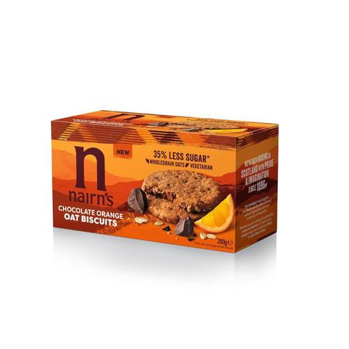 Nairn's Dark Chocolate & Orange Oat Biscuits