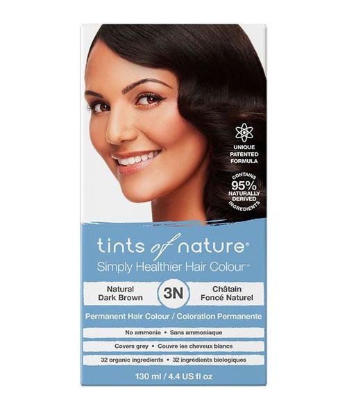 3N Natural Dark Brown Permanent Hair Dye