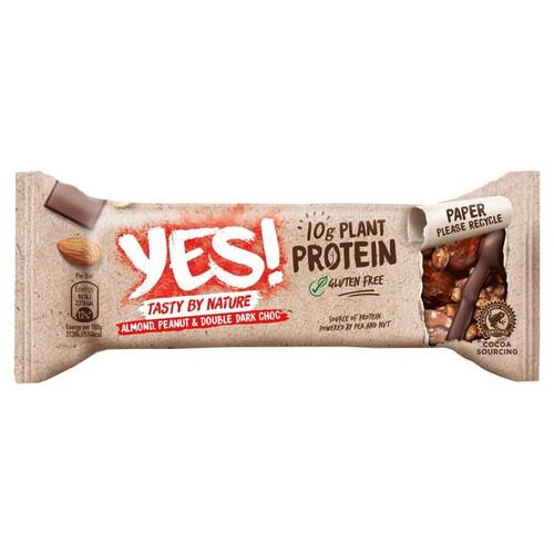 Yes Almond Peanut & Double Chocolate Protein Bar