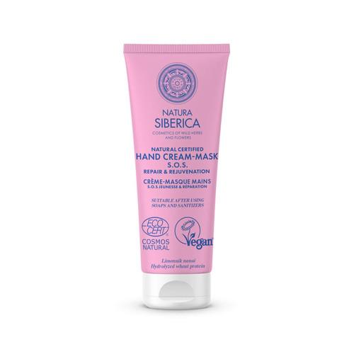 Natura Siberica · Natural certified hand cream-mask - S.O.S. Repair & Rejuvenation