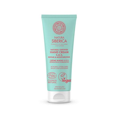 Natura Siberica Natural Certified Hand Cream - S.O.S. Repair & Moisturizing