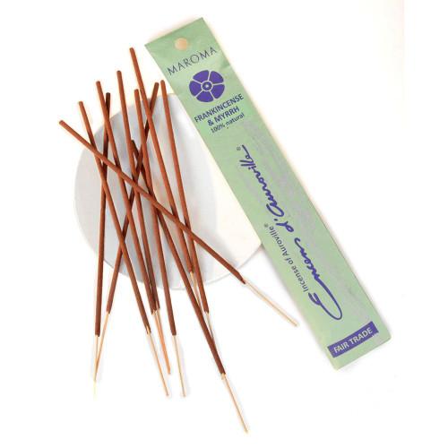 Maroma Frankincense and Myrrh Incense