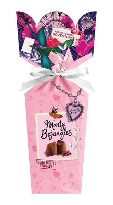 Monty Bojangles Choccy Scoffy Cocoa Dusted Truffles Bouquet Gift Box