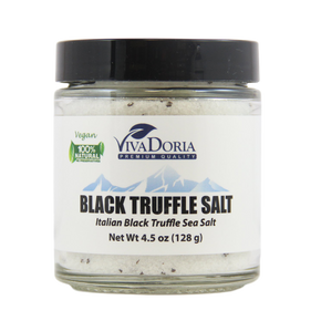 Italian Black Truffle Sea Salt (Fine Grain)