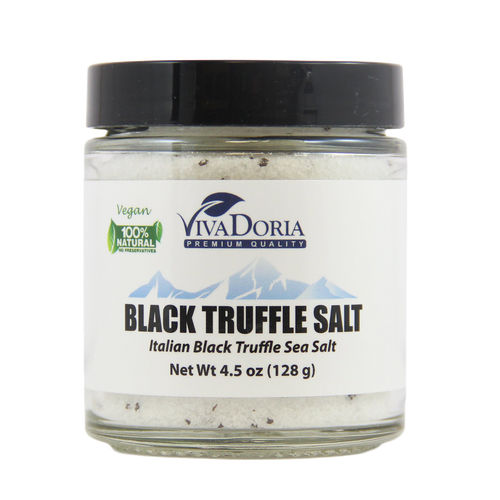 Italian Black Truffle Sea Salt (Fine Grain)