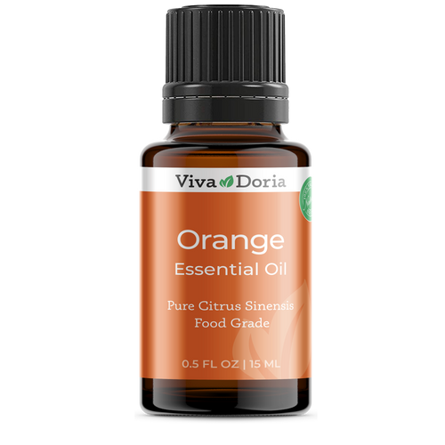 Pure Orange Oil Food Grade