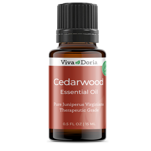 Pure Cedarwood Oil Therapeutic Grade