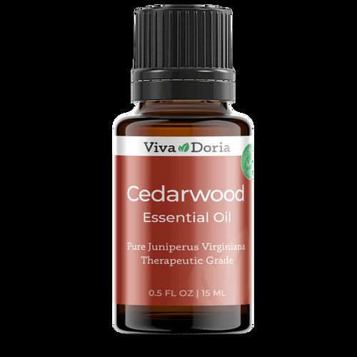 Pure Cedarwood Oil Therapeutic Grade