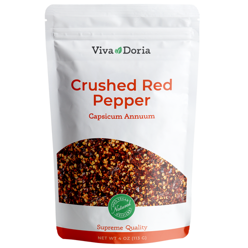 red chilli pepper crushed