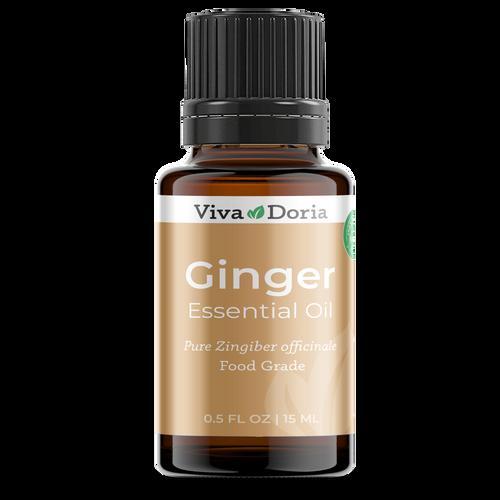 Food grade ginger oil