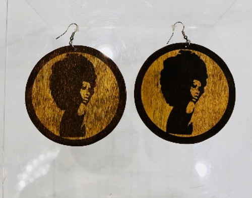 AFRO LADY EARRINGS