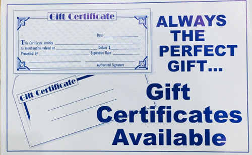 Effortless Boutique Gift Certificate 1