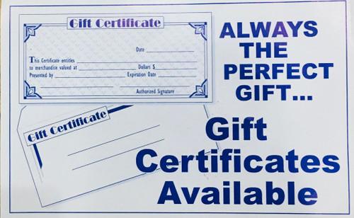 Effortless Boutique Gift Certifcate 2