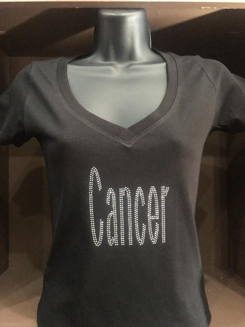 Cancer Bling T-Shirt
