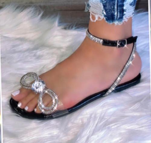 Bow & Diamond Sandal