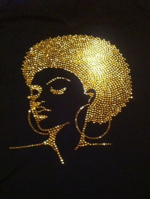 Diva Gold Bling Shirt
