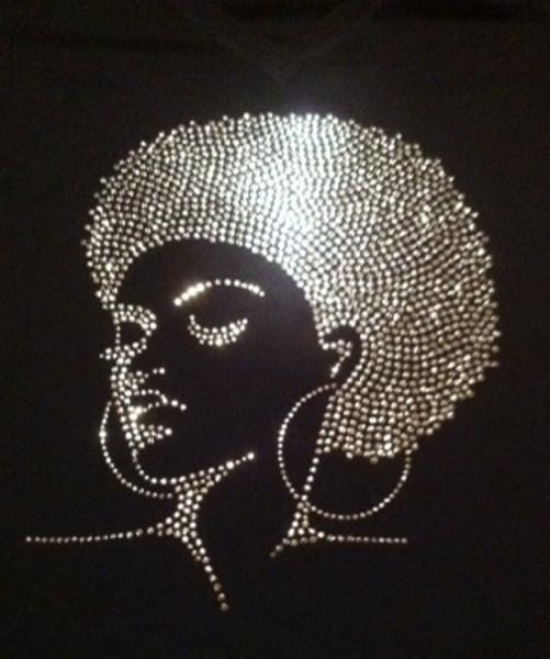 Diva Silver Bling Shirt