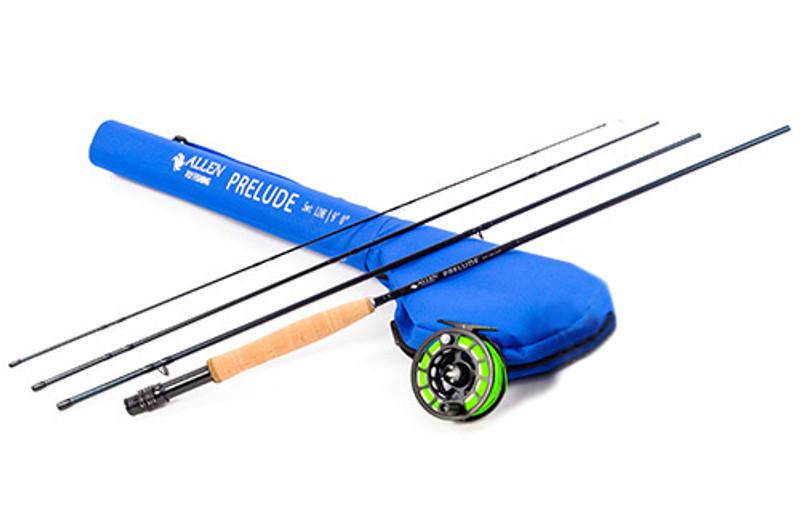 Prelude Rod & ATS Reel Ready to Fish Combo