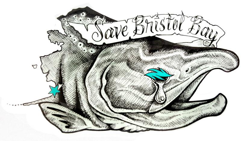 Save Bristol Bay Decal