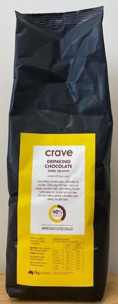 Crave 40% Cocoa Ivory Coast - Drinking Chocolate