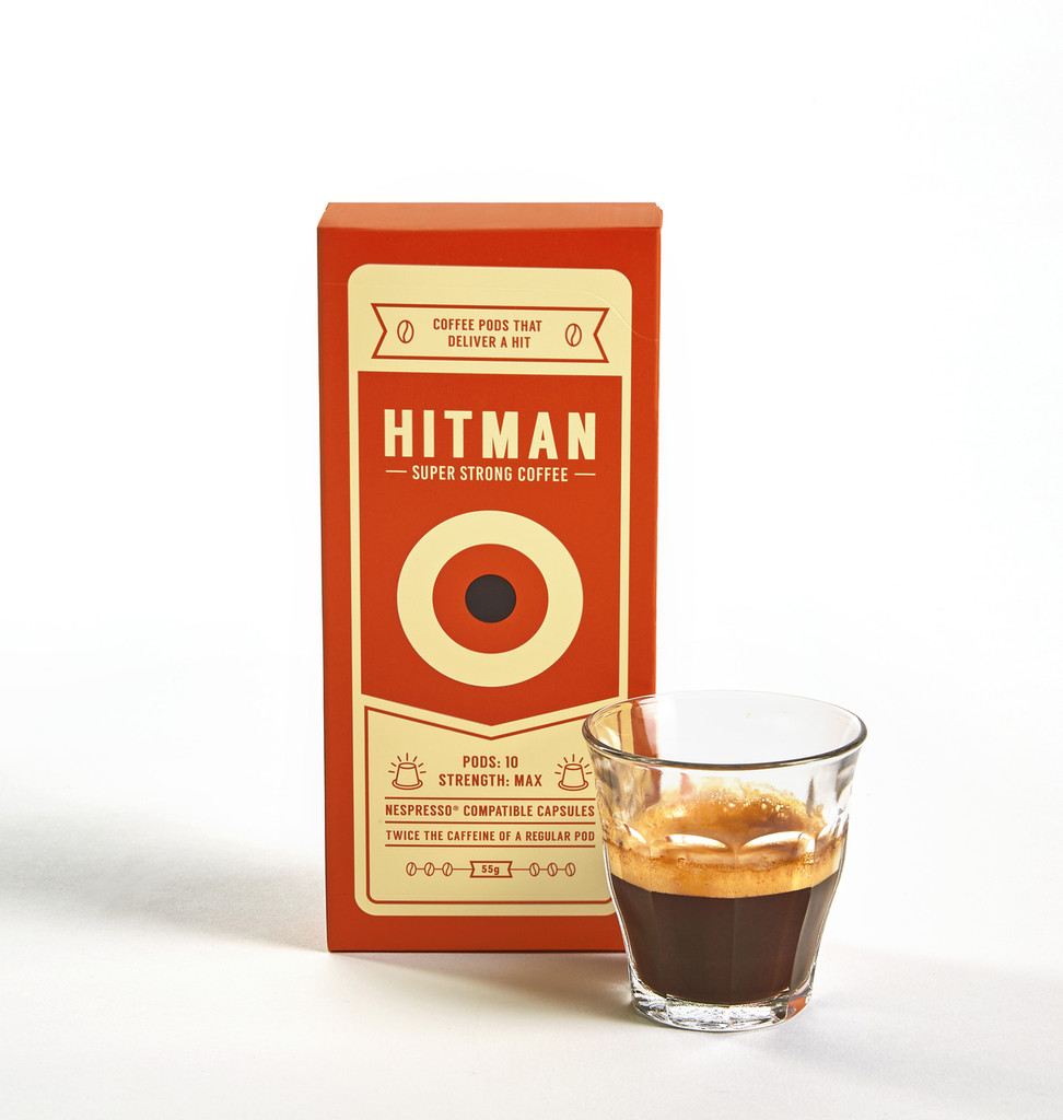 Hitman Coffee Nespresso Compatible ( 60 Pack )