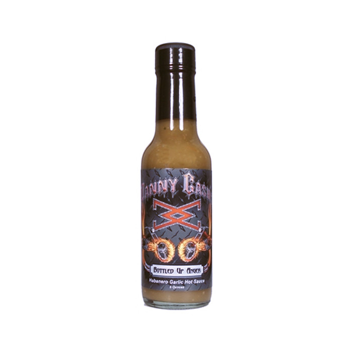 Danny Cash Bottled Up Anger Habanero Garlic - Pepper Explosion Hot Sauce Store