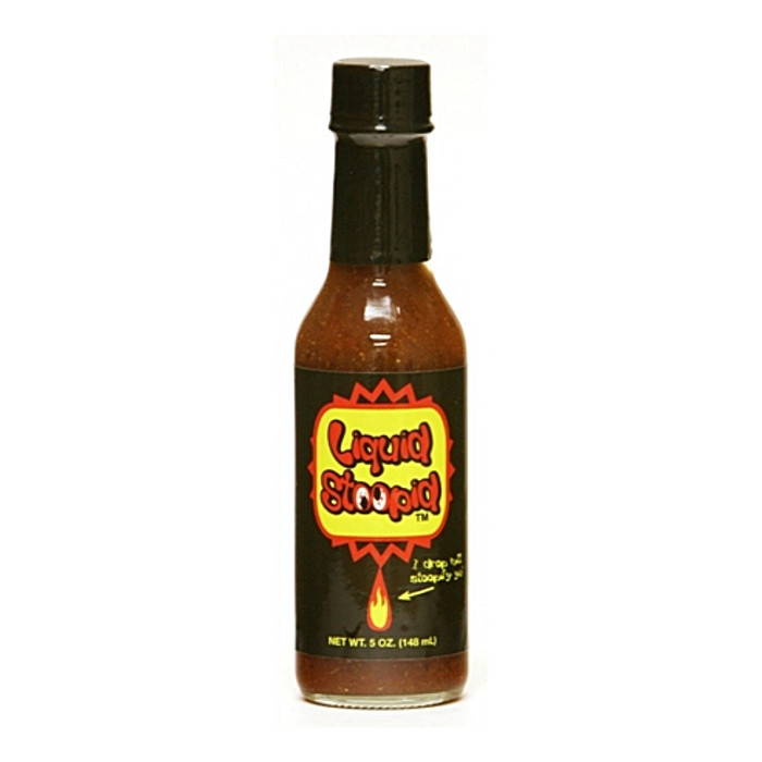 Liquid Stoopid Hot Sauce - Pepper Explosion Hot Sauce Store