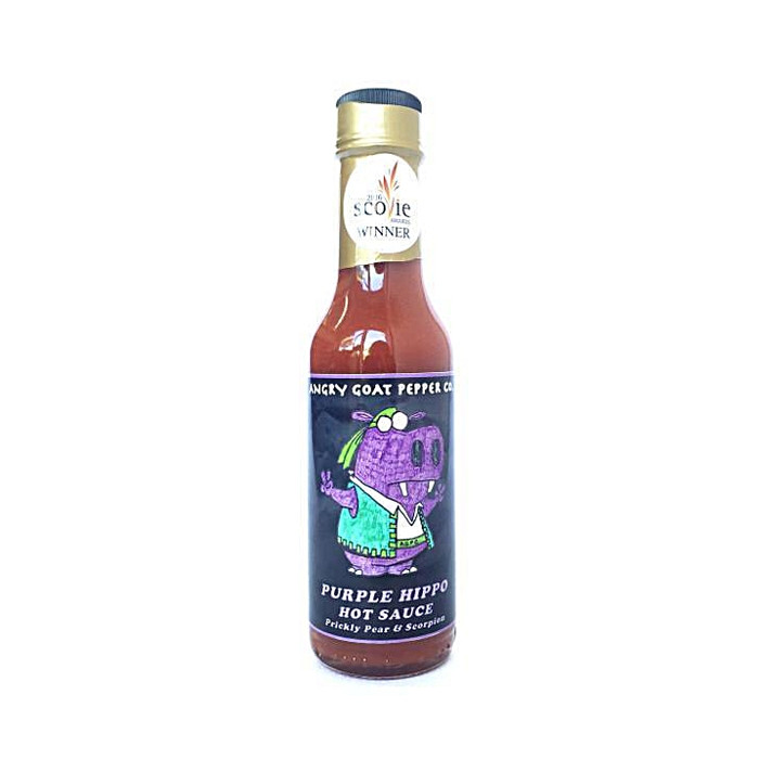 Angry Goat Purple Hippo Hot Sauce - Scovie and World Hot Sauce Award Winner