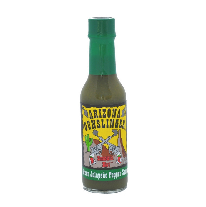 Arizona Gunslinger Green Jalapeno Pepper Sauce