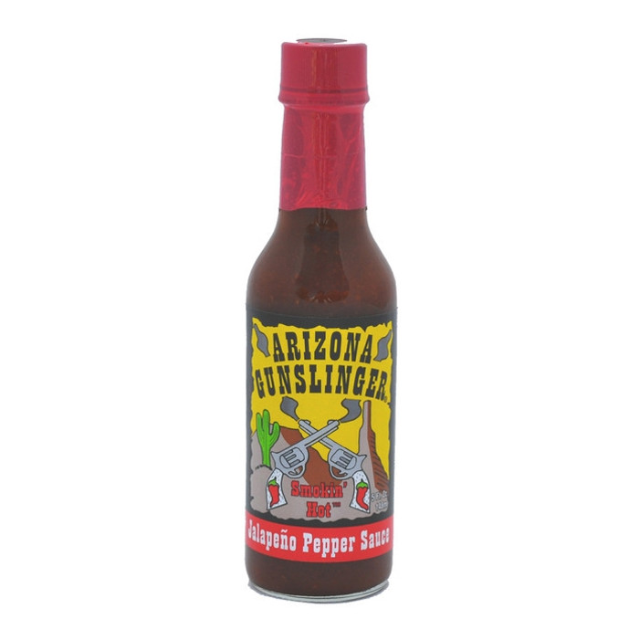 Arizona Gunslinger Red Jalapeno Pepper Sauce (5oz)