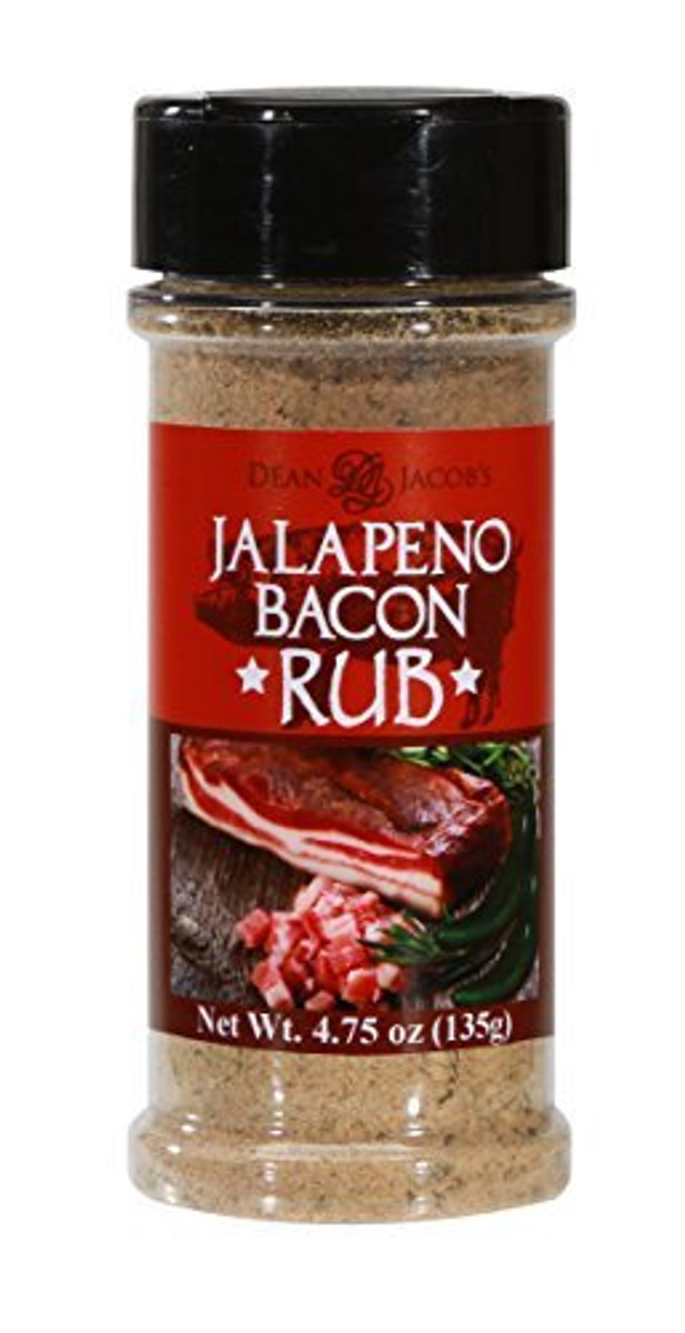 Jalapeño Bacon Rub