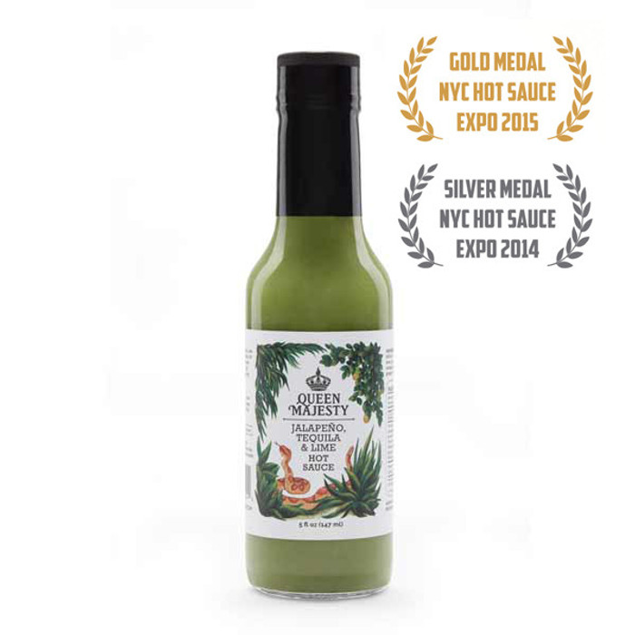 Queen Majesty Jalapeño Tequila & Lime Hot Sauce - Pepper Explosion