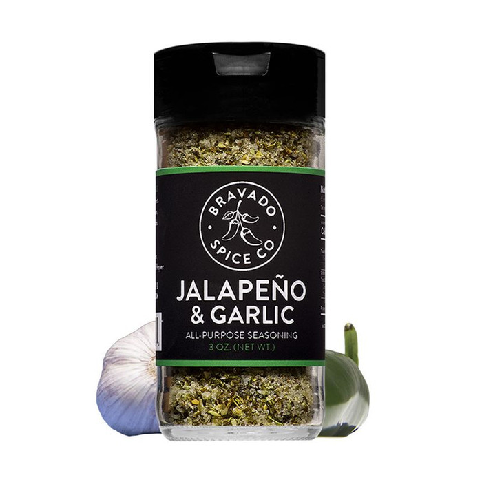 Bravado Jalapeno and Garlic Seasoning