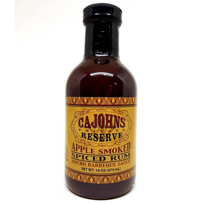 Apple Smoked Spiced Rum Ancho BBQ Sauce