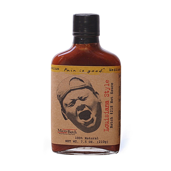 Pain is Good Louisiana Style Hot Sauce as seen on Hot Ones and sold by Pepper Explosion
