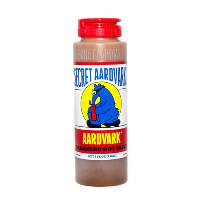 Secret Aardvark Habanero Hot Sauce as seen on Hot Ones and available online at PepperExplosion.com