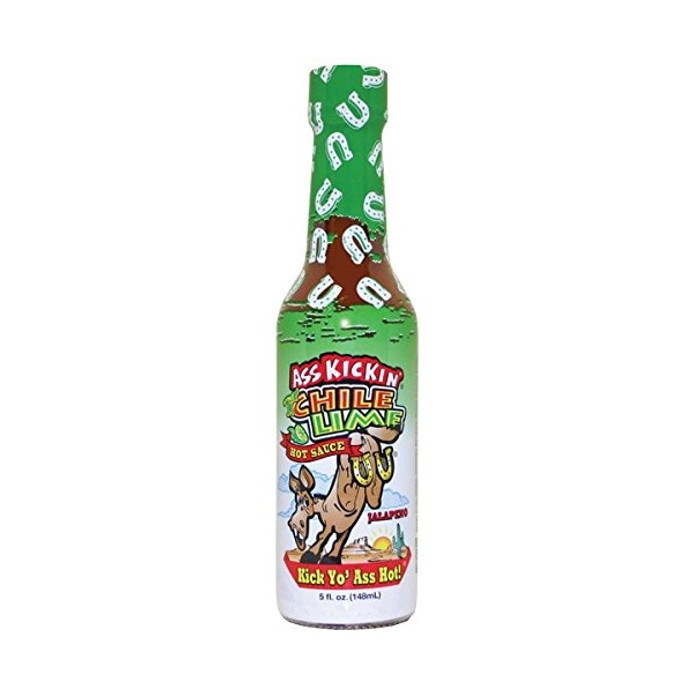 Ass Kickin' Chili Lime Hot Sauce