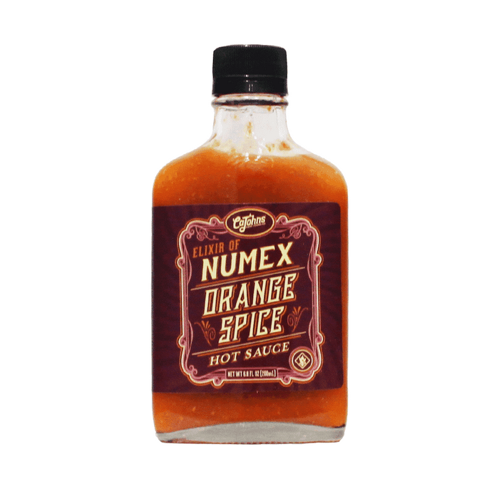 Elixir of NUMEX Orange Spice Hot Sauce