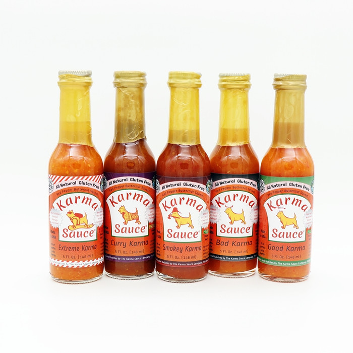 Karma Sauce Combo available online at PepperExplosion.com