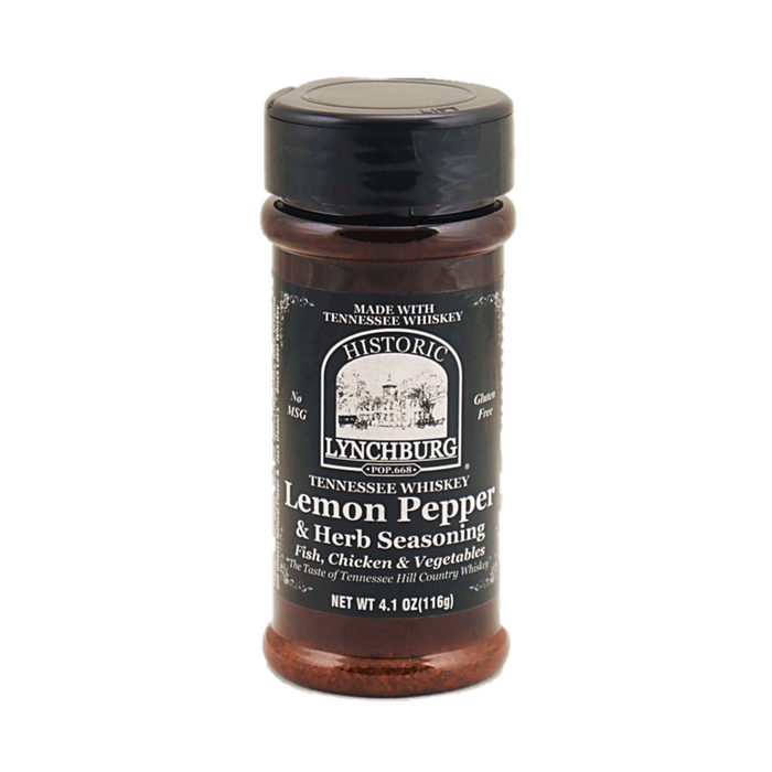 Lynchburg Tennessee Whiskey Lemon Pepper & Herb Seasoning