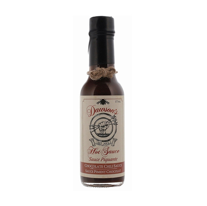 Dawson's Chocolate Chili Sauce available at Pepper Explosion Hot Sauce Store