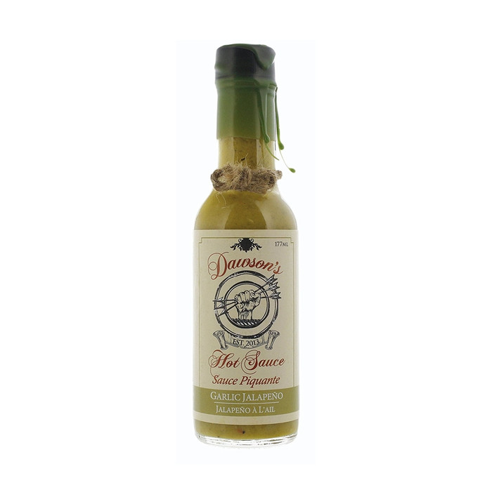 Dawson's Garlic Jalapeno Hot Sauce