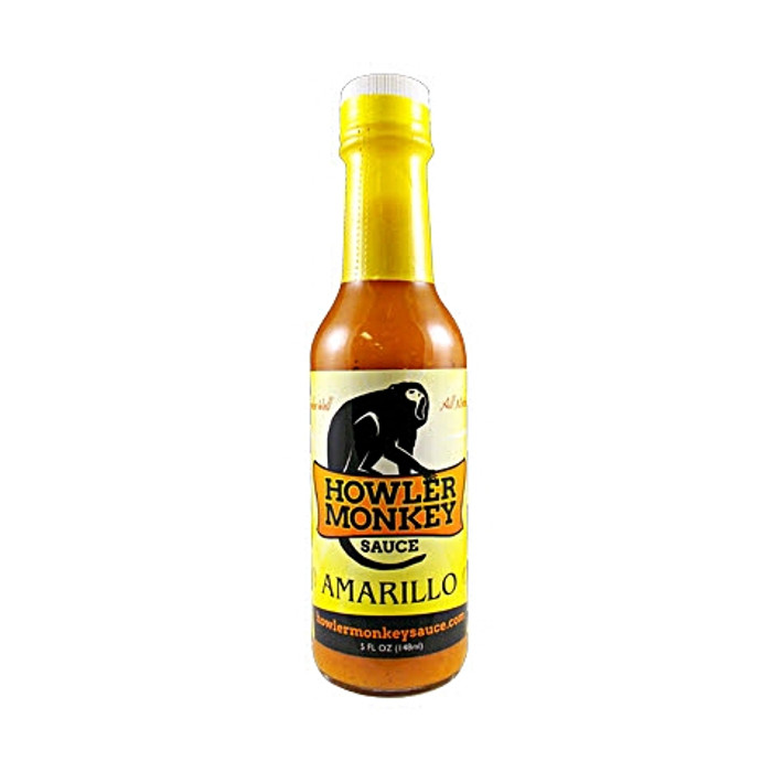 Howler Monkey Sauce - Amarillo - Pepper Explosion Hot Sauce Store
