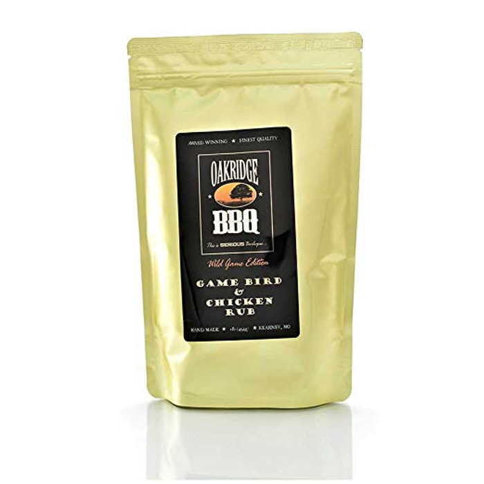 Oakridge BBQ Game Bird & Chicken Rub - 1 Lb
