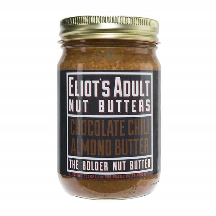 Chocolate Chili Almond Butter available at Pepper Explosion