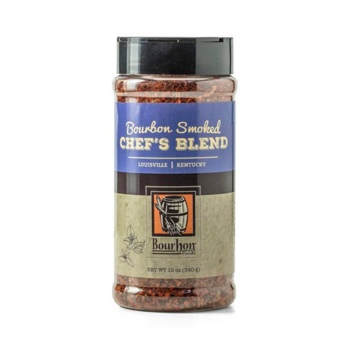 Bourbon Smoked Chef's Blend available at Pepper Explosion - Bulk Size