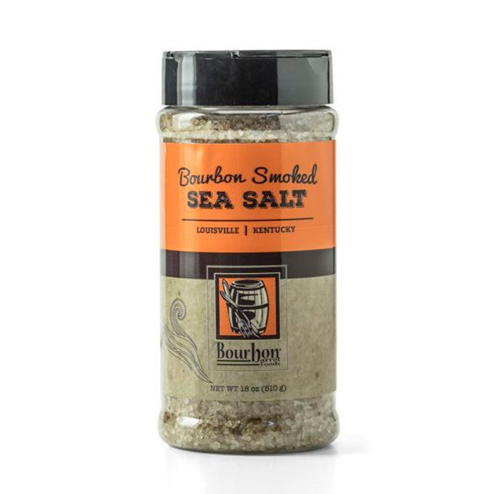Bourbon Smoked Sea Salt | Bulk Size | Pepper Explosion