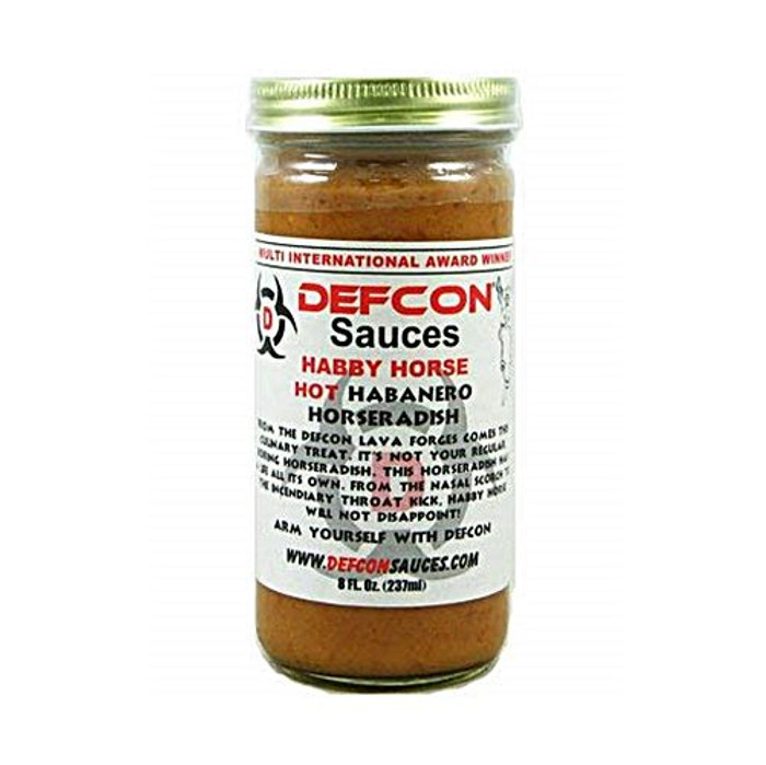Defcon Habby Horse Hot Habanero Horseradish is available at PepperExplosion.com